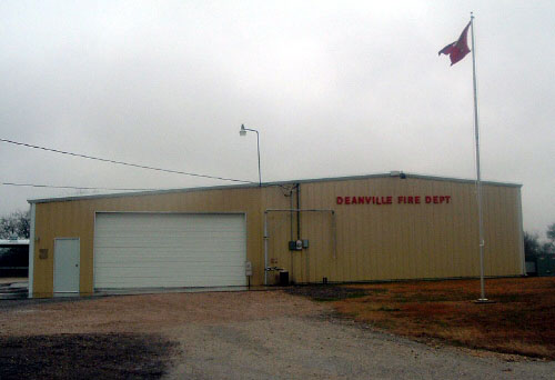 Photo of Deanville Fire Department Building