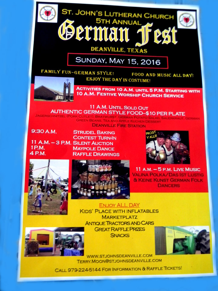mark your calendars for the annual st johns german fest celebration sunday may 21 2017