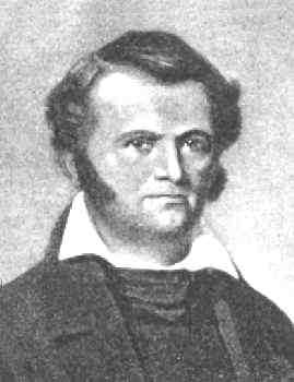 Photo of famous Texan and defender at the Alamo, Jim Bowie