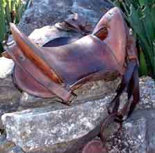 civil war saddle