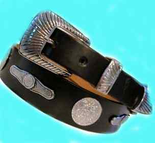 Photo of vintage cowgirl belts, rodeo belts