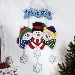 Photo of Let It Snow sign from Country Crafts and Antiques