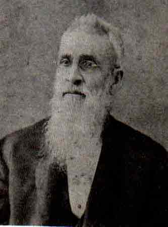 photo of Reverand W.O. Spencer, first postmaster of Liberty Hill