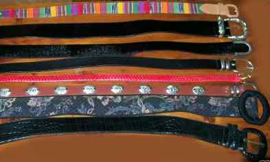 Photo of Used, Vintage Ladies Belts