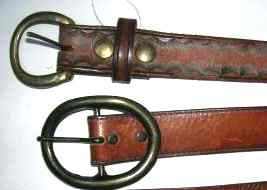 Photo of Vintage western leather belts