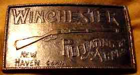 WINCHESTER BELT BUCKLE - $30 (STANTON) for Sale in Wyoming